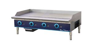 Commercial Kitchen 48 Manual Control Gas Griddle