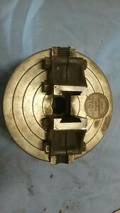 Barker Wrenchless 6 No 1888 2 Jaw Independent Lathe Chuck