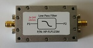 Rf Low Pass Filter Fc 115mhz Vhf Fm 100w Cw Power