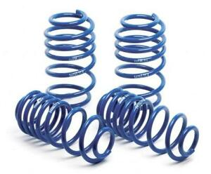 H r Super Sport And Rear Lowering Coil Springs For 2011 2014 Ford Mustang