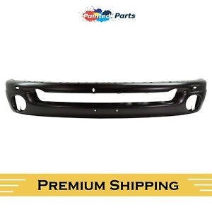 Dodge Ram 1500 2002 2009 Front Bumper Painted To Match Black Ch1002377