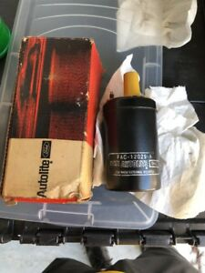Nos 1969 Ford Mustang Boss 302 Boss 429 Shelby Yellow Top Coil Autolite Rare
