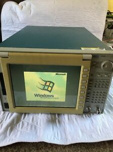 Sony Tektronix 3086 Dc To 3 Ghz Real time Spectrum Analyzer