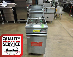 Qualite Ql 9 ng Commercial Economy Tube Fired Gas Fryer