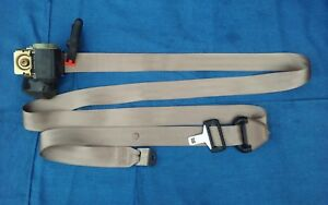 97 00 F150 Rear Passenger Extended Cab Ext Seat Belt Male Retractor Tan Rh Ps