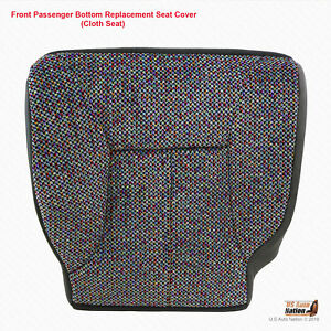 2001 Dodge Ram 1500 2500 3500 Slt Passenger Bottom Dark Gray Cloth Seat Cover