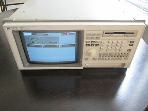 Hp 1661a Logic Analyzer With Start up Disks And Probe Cables