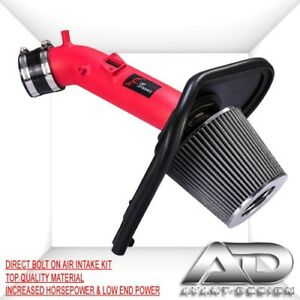 2013 2017 For Honda Accord Lx Ex 2 4 2 4l Af Dynamic Cold Air Intake Kit Red