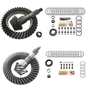 4 56 Ring And Pinion Gears Install Kit Package Ford 8 8 Ifs Front 9 75 Rear