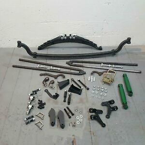 Model A 1928 1931 Ford Basic Roadster Hot Hair Pin Drop Drilled Axle Kit Rat