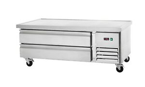 Commercial Kitchen Refrigerated Chef Base 62 With 2 Drawers