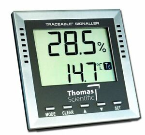 Thomas Traceable Dew point wet bulb humidity temperature Alarm 40 To 158 Degr