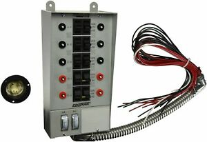 Reliance Controls Corporation 30310a Pro tran 30 amp Indoor Transfer Switch F