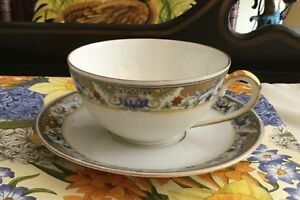 Koenigszelt Vintage Tea Cup And Saucer 1922 1930 2 Sets