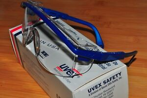 Uvex Astrospec Clear Lens Safety Glasses Anti fog static uv scratch S129 Usa
