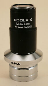 Nikon Microscope Coolpix Mdc Relay Lens With Adapter