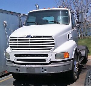 Genuine Sterling 9500 A9500 Single Axle Day Cab Construction Hauler