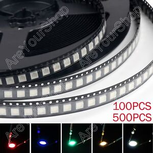 5050 Led Smd Smt Plcc 6 Red Green Blue Yellow White 5colours Light Diodes Bs Bs1