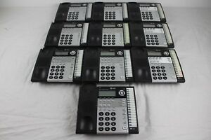 Lot Of 10 At t 1070 4 line Small Business System Office Phones No Handset base