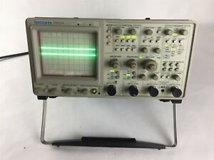 Tektronix 2465a 350mhz 4 Channel Auto Setup Analog Frequency Oscilloscope