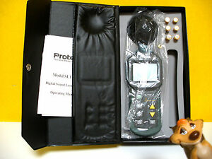 Protek Sl 1700 Digital Sound Level Meter New In Box Save Your Ears