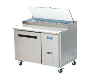 Commercial Kitchen 48 Refrigerated Pizza Prep Table