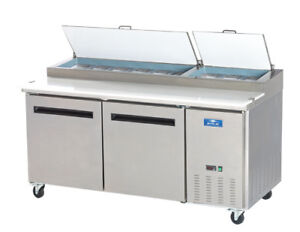 Commercial Kitchen 71 Refrigerated Pizza Prep Table