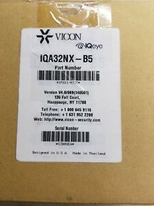 Iqinvision Iqa32nx b5 Iqeye Alliance pro H 264 Mp Ip Dome Camera New