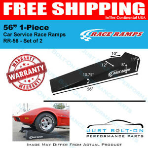 Race Ramps 56 1 piece Car Service Ramps 8 Lift set Of 2 Rr 56