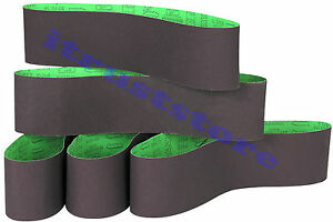5PC 6 x 48 INCH WOOD SANDING SANDPAPER CLOTH BELT SANDER ALUMINUM OXIDE 120 GRIT