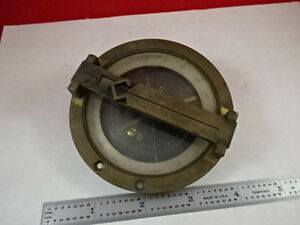 Antique Brass Compas Compass Brujula As Is q5 a 06 b