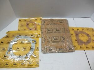 Nos John Deere Hit N Miss Engine 1 5 Hp Gaskets E2221rt E2184rt E2185rt