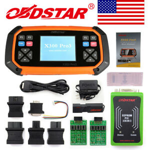 Usa Ship Latest Obdstar X300 Pro3 Auto Master With Immobiliser eeprom pic obdii