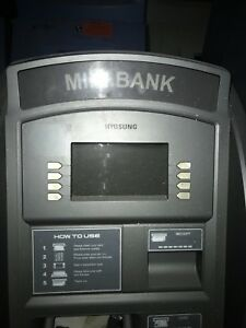 Nautilus Hyosung Mini Bank 1800 Atm Machine