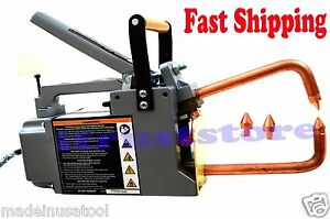 120v Spot Welder Galvanized Or Stainless Sheet Steel Air cooled Spot Welder