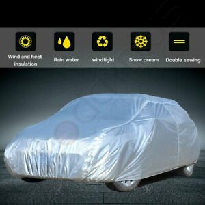 New Full Car Cover All Weather Uv Waterproof Fits For 1990 1991 2005 Honda Civic
