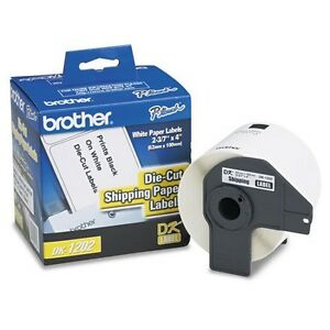 Brother Dk 1202 Die cut Shipping Paper Labels 2 4 X 3 9 300 roll