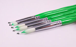 10set Dental Porcelain Brush Pen Dental Lab Equipment Forporcelain Denture Teeth