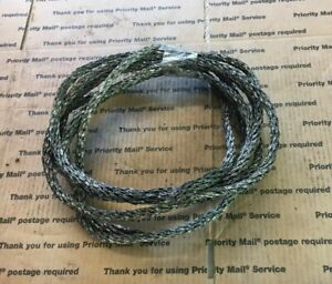 Woven Copper Ground Cable Wire Lightning Rod Weathervane Vintage Crafts Arts 34f