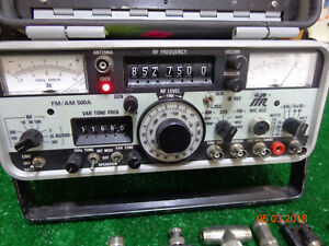 Ifr 500a Am fm Vhf Uhf Radio Repeater Communications Service Monitor Ifr500a