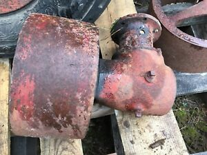Farmall Cub Rear Belt Pulley Assembly