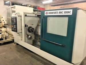 2005 Cnc Lathe W Live Tooling 14 X 39 W 3 7 Hole Presetter Tool Package