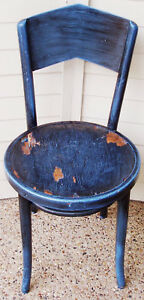 Antique Bentwood Chair Made In Poland