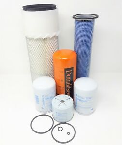 Bobcat 943 s n 12001 Above Skid Steer Loader Filter Kit 6 Filters Sc