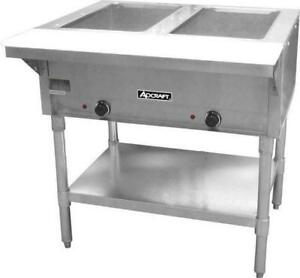 Commercial Kitchen 2 Well Electric Hot Food Steam Table 33