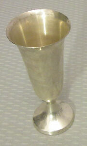 Web Sterling Silver Cordial Vintage 3 Footed Shot Goblet 21g No Mono