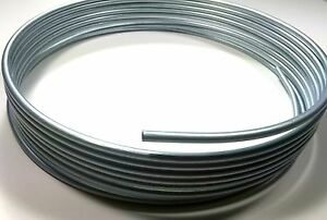 25 Foot Roll Coil Of 3 8 Steel Fuel Line Tubing
