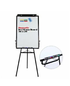 Tripod Whiteboard 24x36 Inches Magnetic Dry Erase Board