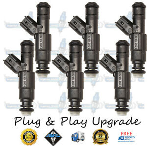 Best Upgrade Bosch 4 Hole Gm Equinox Torrent 6x Fuel Injectors 89017615 3 4l
