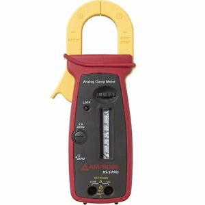 Amprobe Rs 3 Pro Cat Iv 300a Analog Clamp Meter